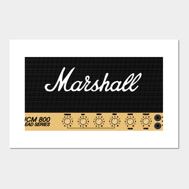 Marshall Amps Logo Packaging Music Sound Amps Symbol Funny Unique