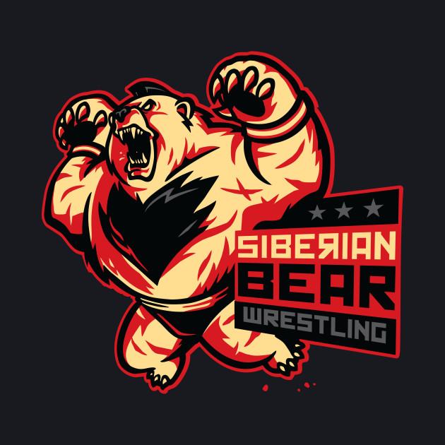 Siberian Bear Wrestling