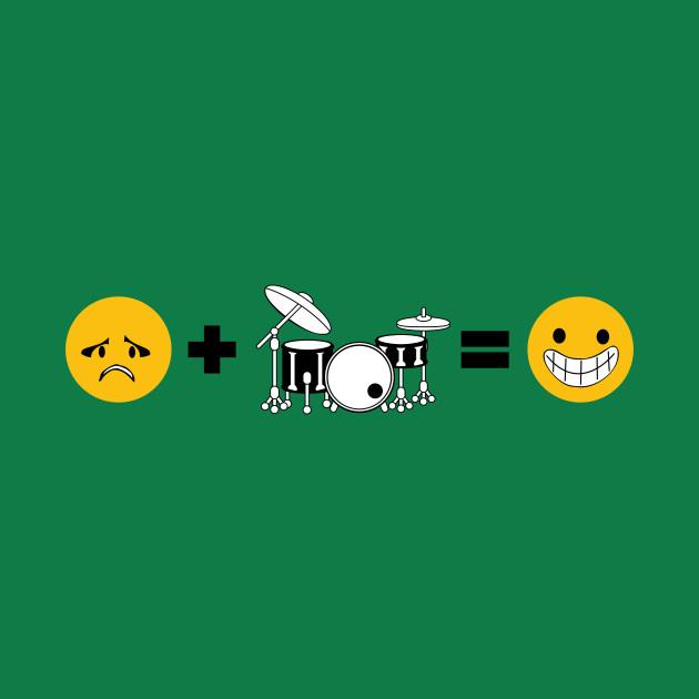 Sad + Drums = Happy