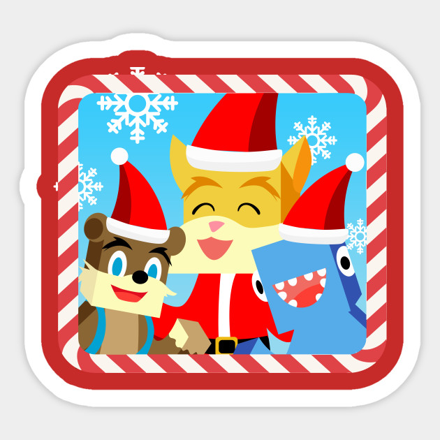Stampylonghead Christmas.Minecraft Youtuber Stampy Cat