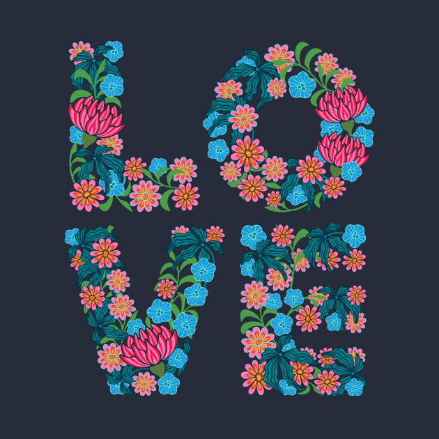 Flowered LOVE