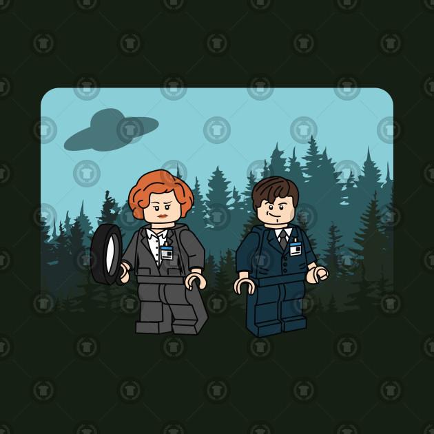 X-Files Bricks