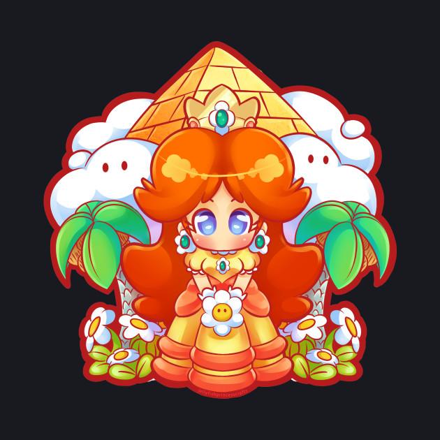 Princess Daisy Badge