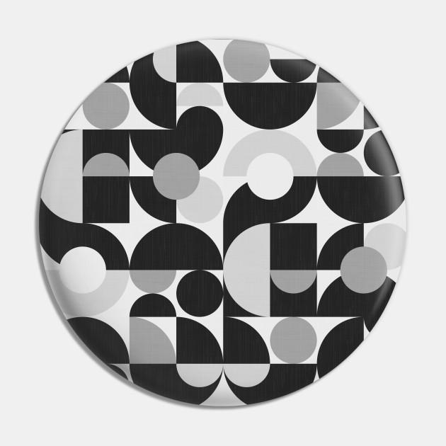 Mid Century Shapes N.09 / Monochrome Minimalism