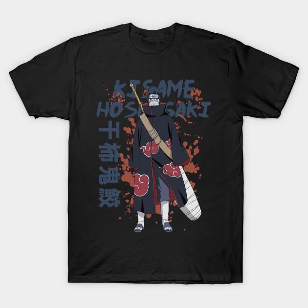 Kisame Hoshigaki Naruto Shippuden Naruto T Shirt Teepublic Au