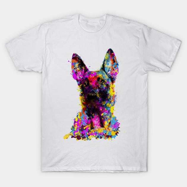 90dc1e6c Malinois puppy - Belgian shepherd - Mechelaar - Malinois - T-Shirt ...