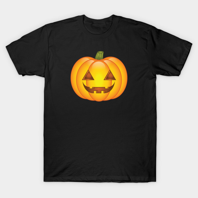 Happy Orange Halloween Pumpkin
