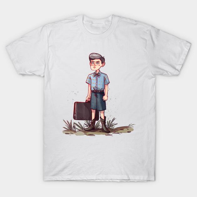 Young Sheldon Sheldon Cooper T Shirt Teepublic