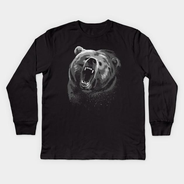 Angry Bear Kids Long Sleeve T-Shirt 144e8e6b3