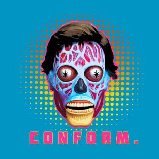 Conform t-shirts