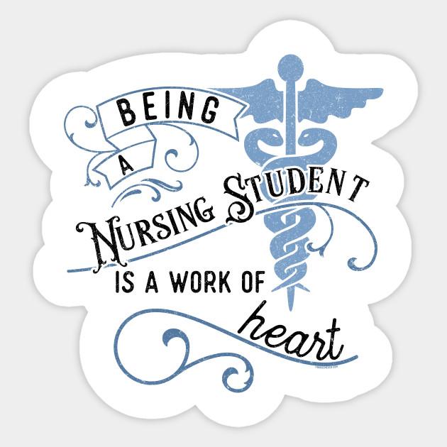 Funny Nursing Student Nurse Gift Idea Nursing Student Gift Sticker Teepublic