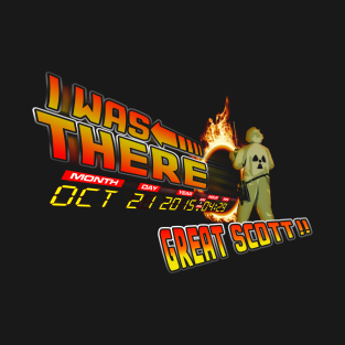 Back to the future day - Great scott!! t-shirts