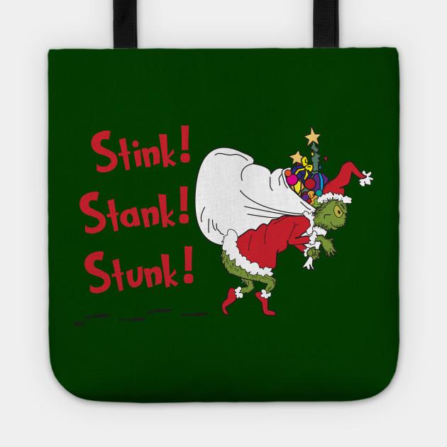 Stink! Stank! Stunk! The Grinch