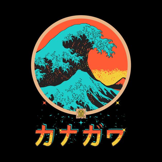 Tsunami off Kanagawa