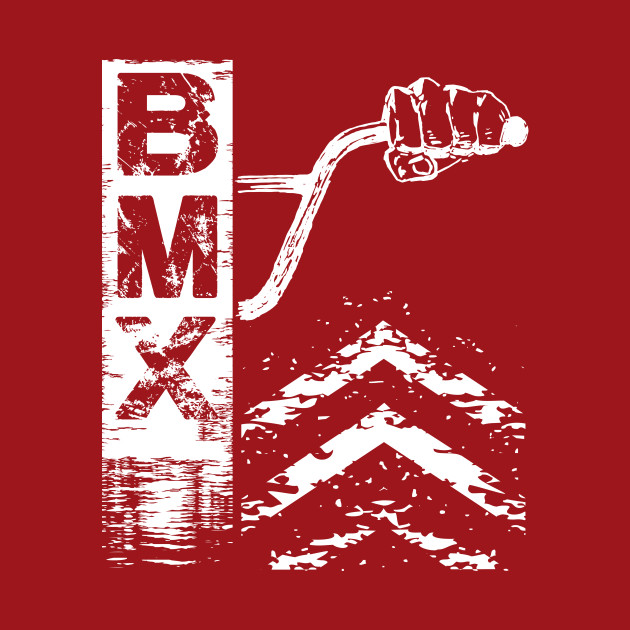Bmx Bars Abstract Graphic Gift for Bmx Riders