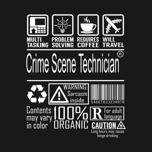 Crime Scene Technician Multitasking