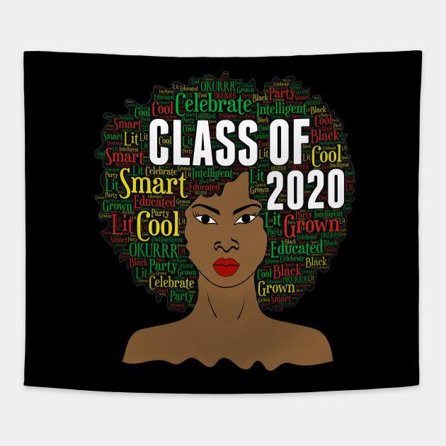 Class of 2020 Words in Afro