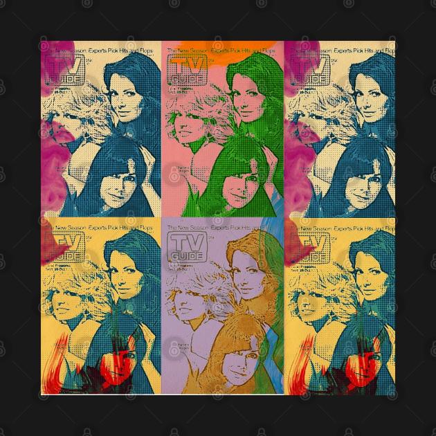 Charlie's Angels Pop Art