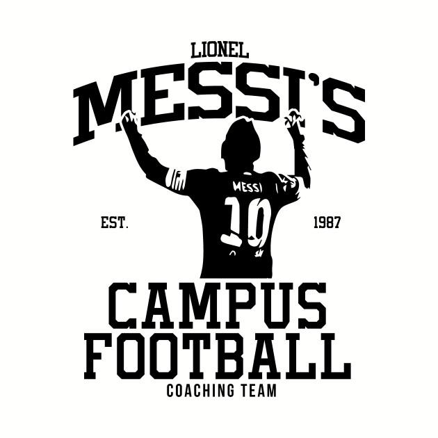 Messi's Campus Football Coaching Team
