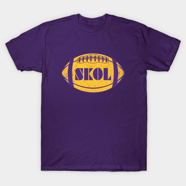 """Stefon Diggs Case Keenum Minnesota Vikings /""""SKOL VIKINGS/"""" Hooded SWEATSHIRT"""