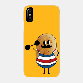 Curl Moustache Phone Cases - iPhone and Android | TeePublic