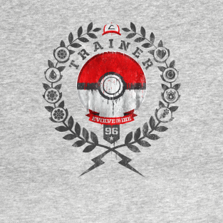 PokeTrainer t-shirts