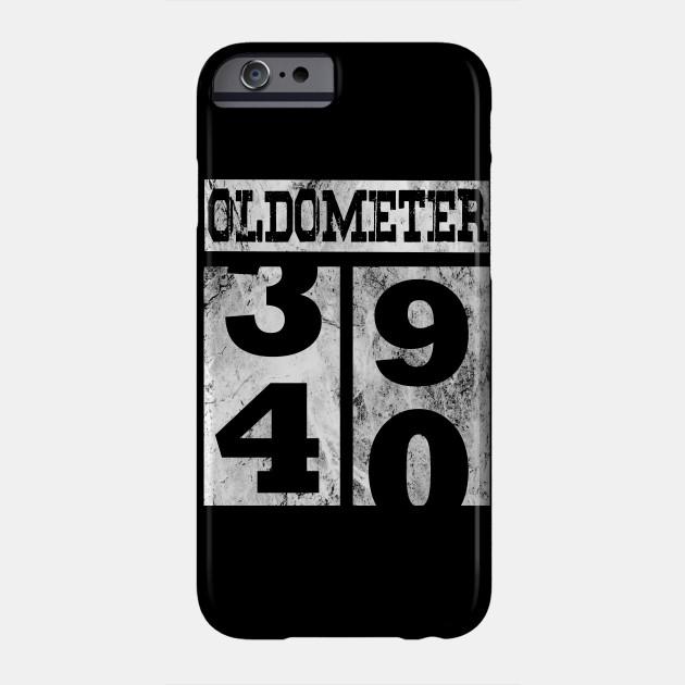 Funny Oldometer 40 Years Shirt 40th Birthday Gift Men Women Phone Case