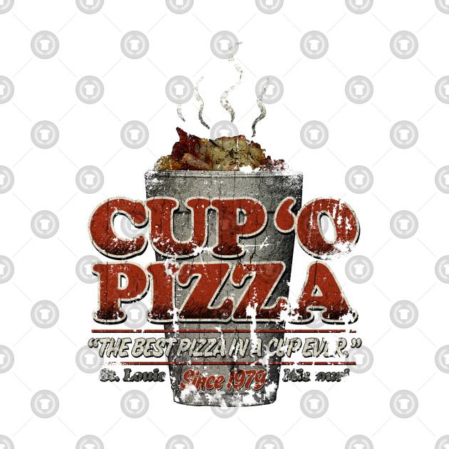 Cup 'o Pizza - Vintage