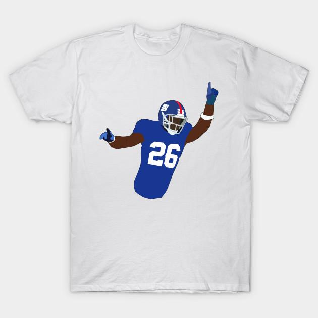 Saquon Barkley - New York Giants - Nfl - T-Shirt  cd6bbf840