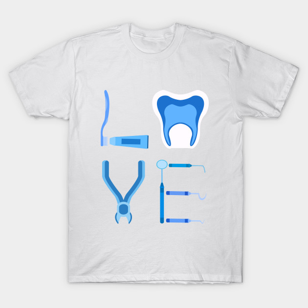 Dentistry Love Proud Dentist Funny Dental Assistant Gift by interdesign