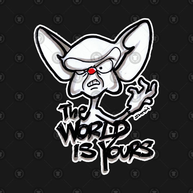 The World Is Yours Brain The World Is Yours Quote Hoodie Teepublic