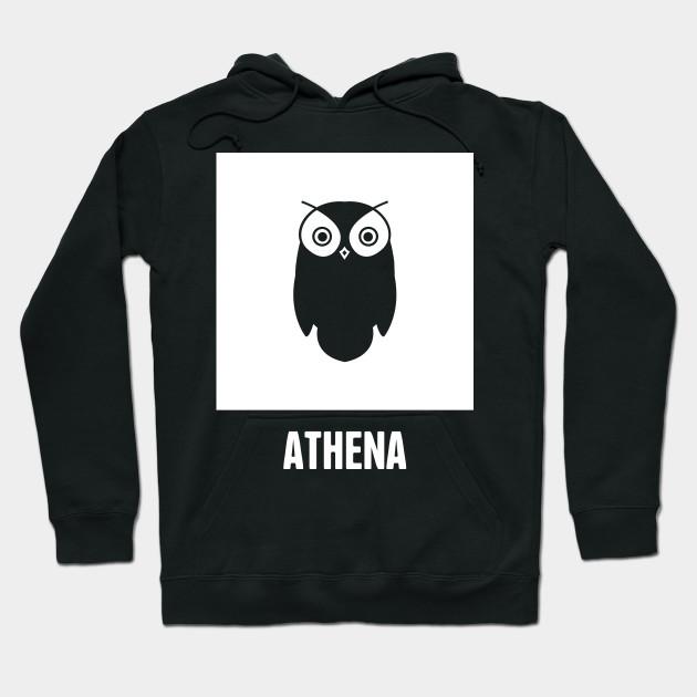 Athena Greek Mythology God Symbol Greek Mythology Hoodie