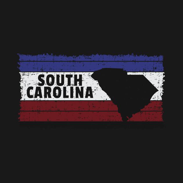 South Carolina USA State Columbia Coastal Charleston Fort Sumter Grand Strand Myrtle Beach Design Gift Idea