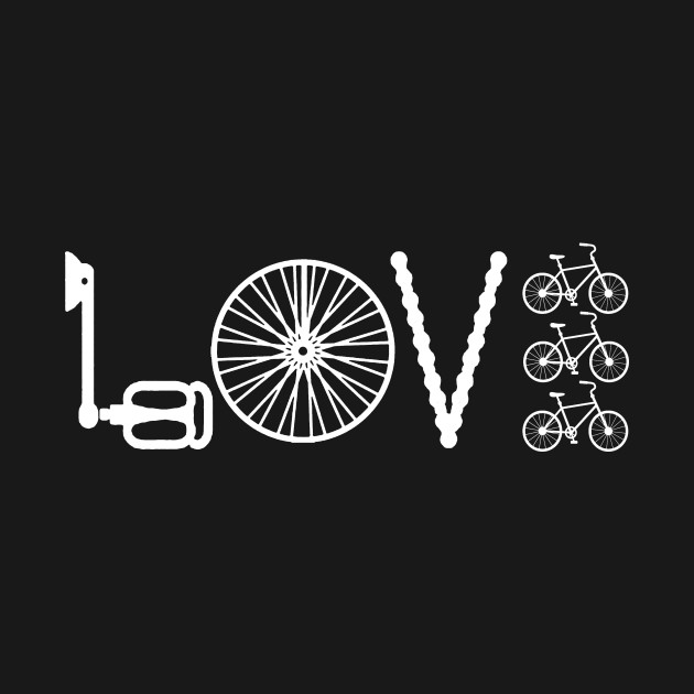 Love Cycling Shirt Love Cycling T Shirt Teepublic