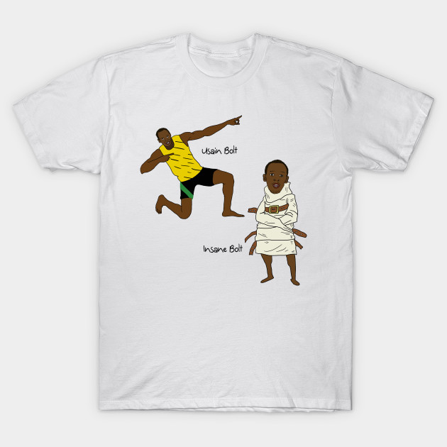 7f5390ab8fb421 Usain Bolt/Insane Bolt - Usain Bolt - T-Shirt | TeePublic