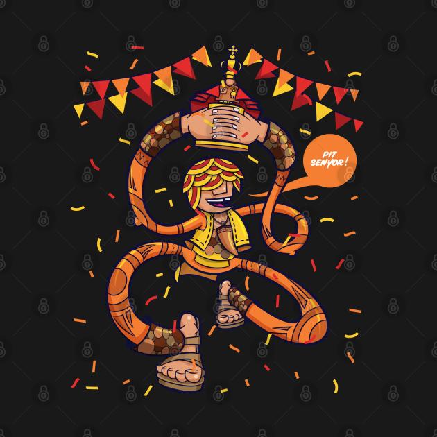 Pit Senyor! Sinulog Cebu Philippines Costume