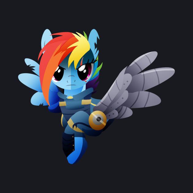 Warrior Rainbow Dash