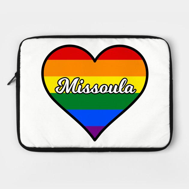 Missoula Montana Gay Pride Heart