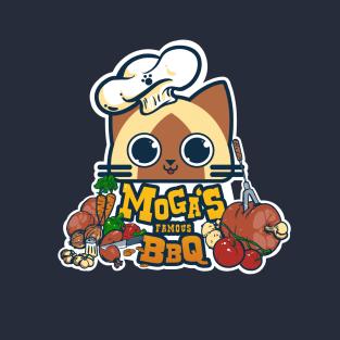 Moga's Famous BBQ t-shirts