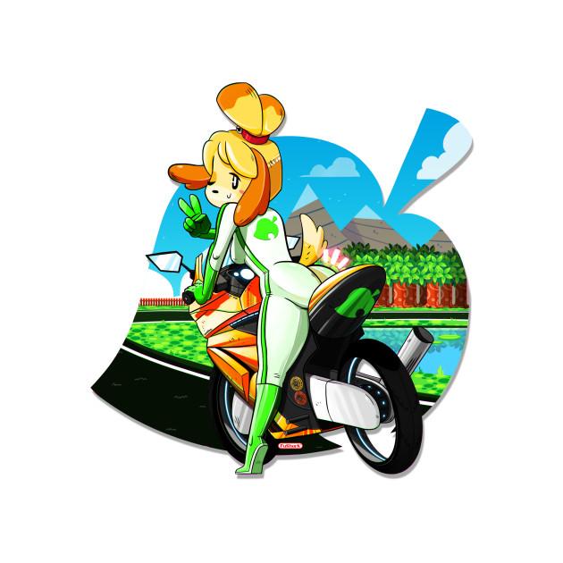 Isabelle - Mario Kart
