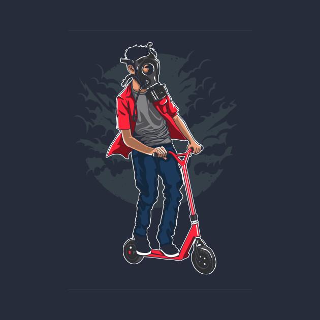 Gasmask Rider