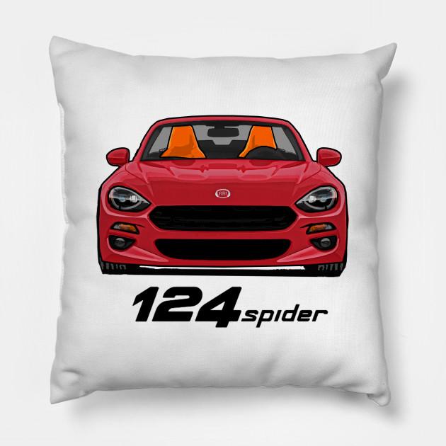 Fiat 124 Spider - Red