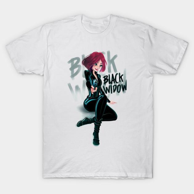 Black Widow Shirt Our T Shirt