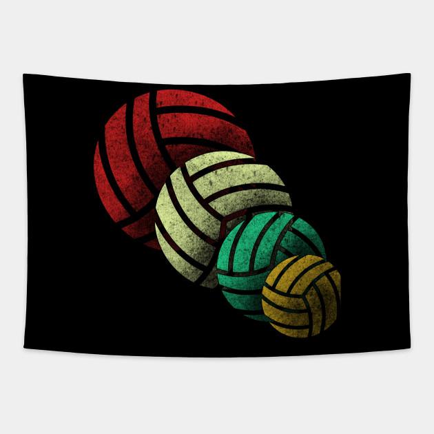 Retro Volleyball