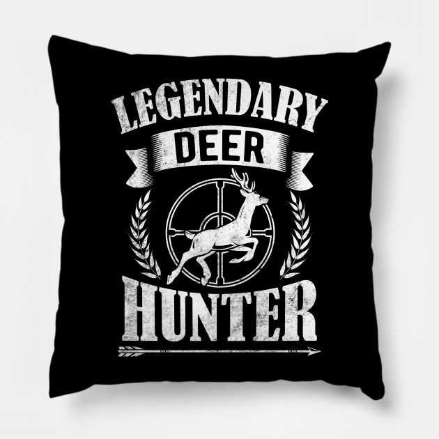 Retro Vintage Style Legendary Deer Hunting Gift For Hunter