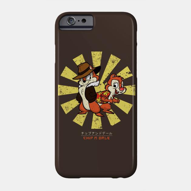 Chip N Dale Retro Japanese Chip N Dale Phone Case Teepublic