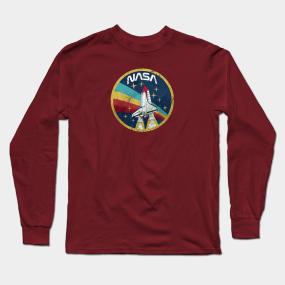 9b1aeaf5d90 Main Tag Nasa Space Long Sleeve T-Shirts