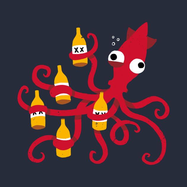 Drunk Squid