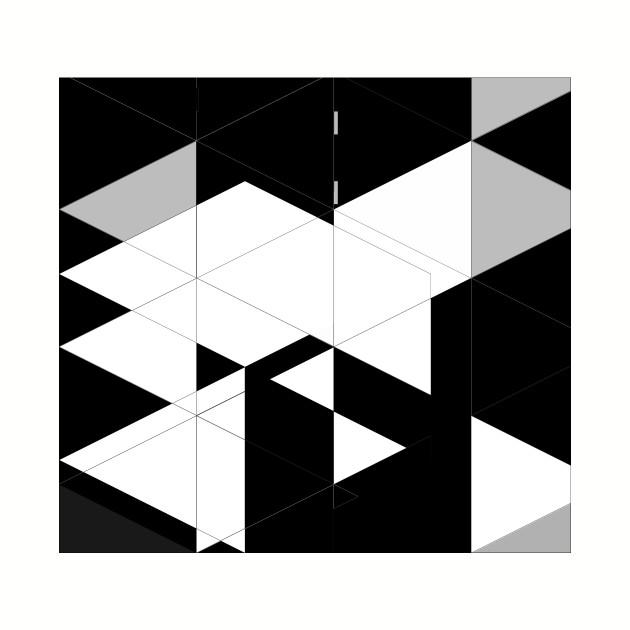 Blackandwhite graphic design