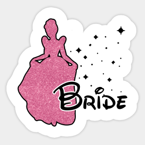 bride tribe bride sticker